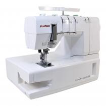 Janome coverpro: Jamais une machine à point couvert  n'était si simple à l'emploi.
