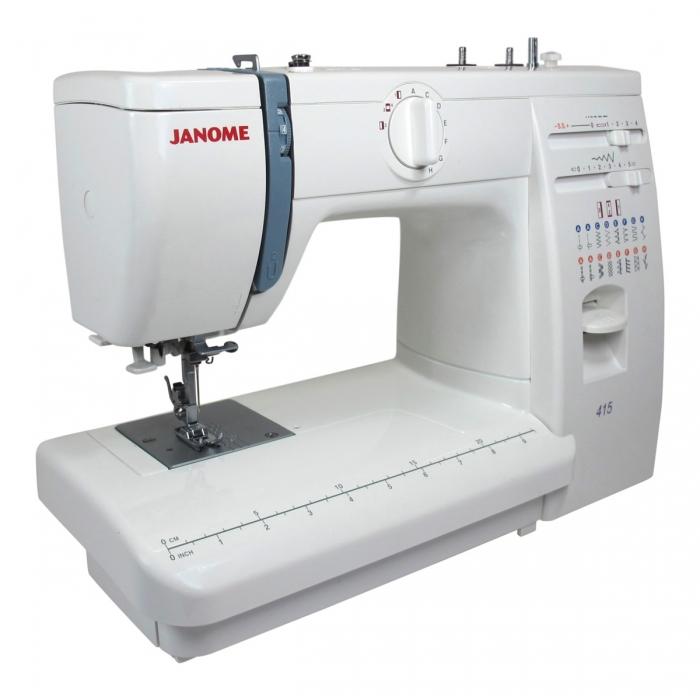 Janome 415 White Matri Machines A Coudre
