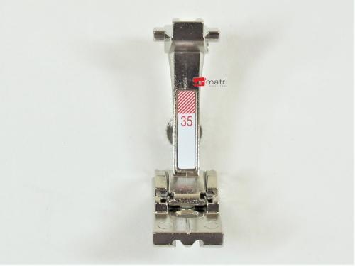 Bernina Pied pour fermeture à glissière invisible nr 35