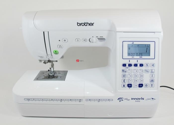 brother innovis f410 machine coudre matri machines a. Black Bedroom Furniture Sets. Home Design Ideas