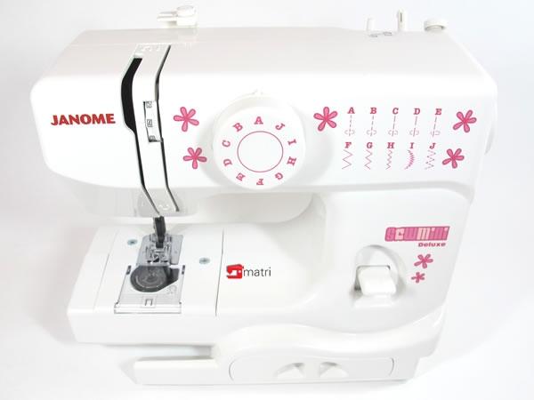 janome sew mini la machine coudre adulte pour enfants. Black Bedroom Furniture Sets. Home Design Ideas
