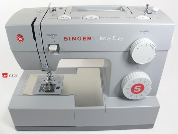singer heavy duty machine