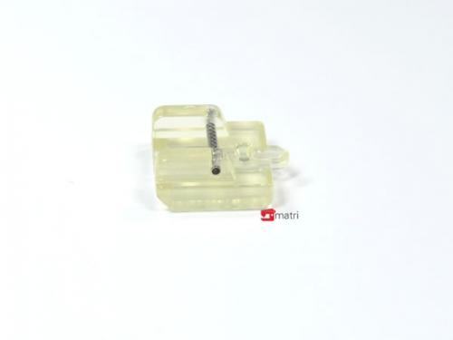 Matri pied fermeture à glissière invisible 002
