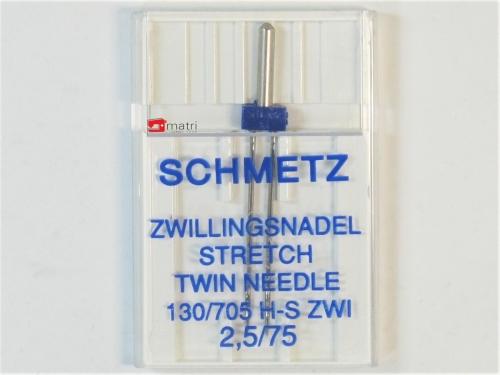 Schmetz Aiguille-double 2.5 / 75