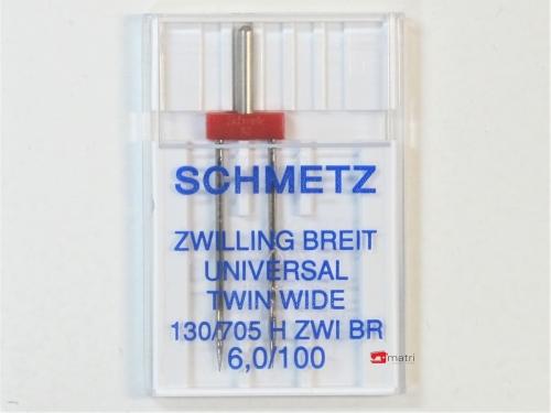 Schmetz Aiguille-double 6 / 100